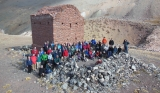 Darwin's shelter at the Andes (Max somewhere in there) - 4th IPC, Mendoza (2014)
