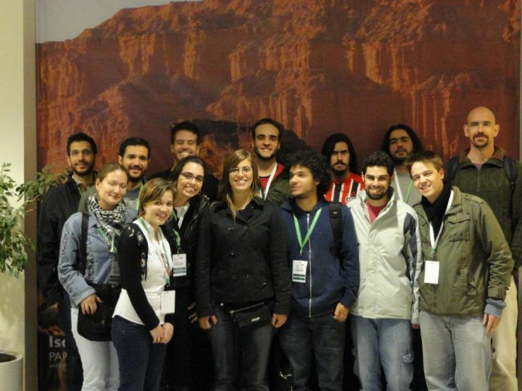 PaleoLab team and ex-members in the IV CLPV in San Juan, Argentina (2011)