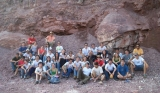 In the shadow of the giant stromatolites: 'Geology' field work at Irati Formation quarry (2007)