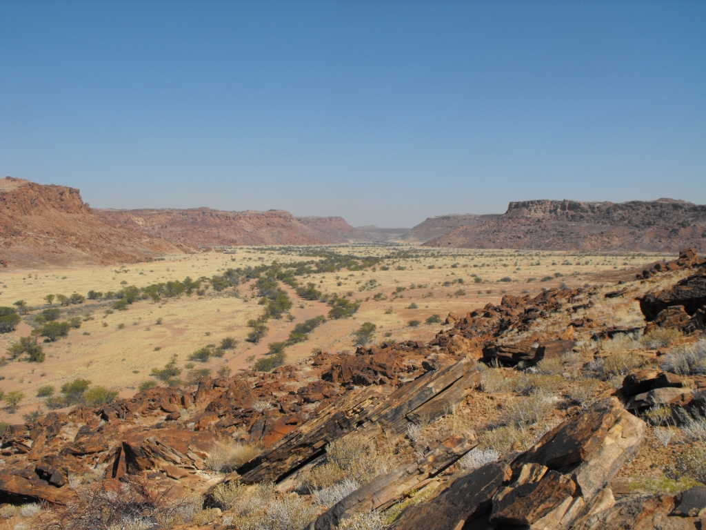 Landescape of the Twyfelfontein Formation