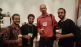 Gabriel, Pedro, Max and Mario at  SVP 2014 Meeting in Berlin