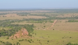 June/2011 field work - General view of cretaceous landscape, Tangará da Serra-MT