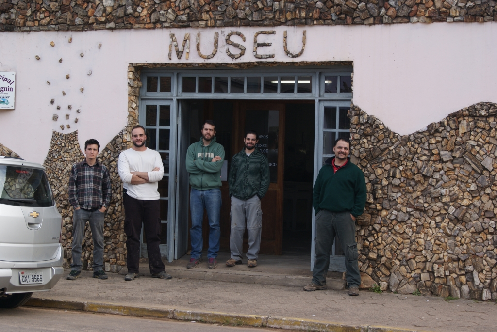 August/2014 field trip - At Mata's museum