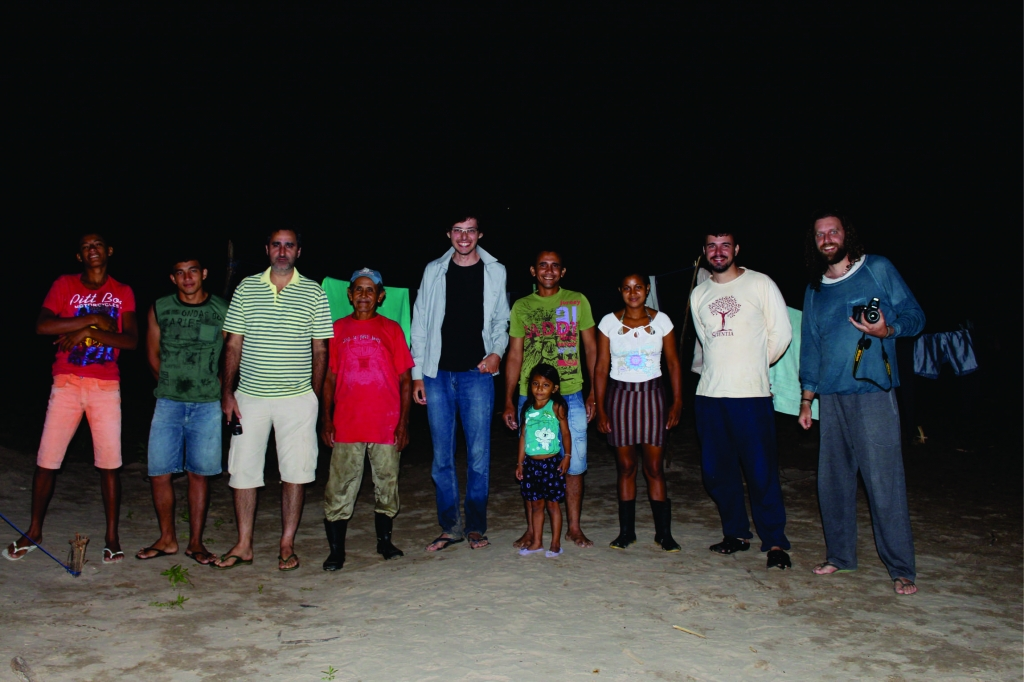 September/2016 field-trip - team with the Ashaninka people at Foz do Breu
